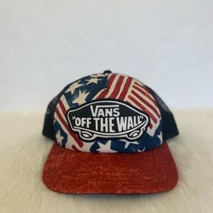 Vans American Flag Trucker Hat
